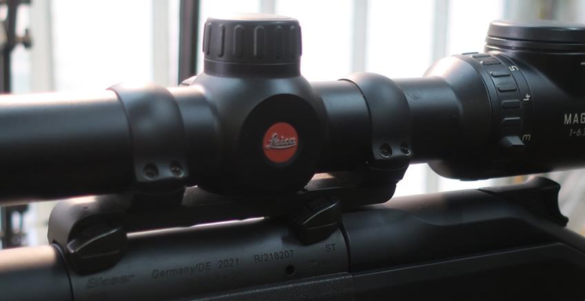 ALEX Armunier Paris - Montage optique sur carabine